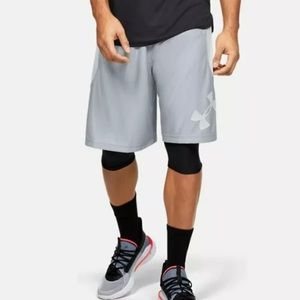 Under Armour Perimeter Basketball Shorts Sz 3XL